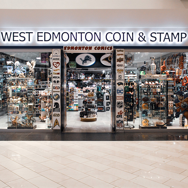 West Edmonton Coin & Stamp Featured Image
